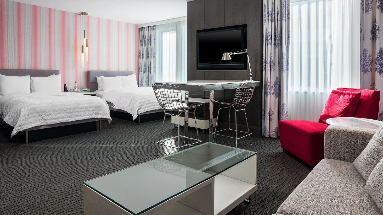 Executive Double Hotel Suite